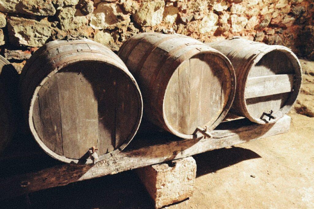 История французских бочек для производства вина
