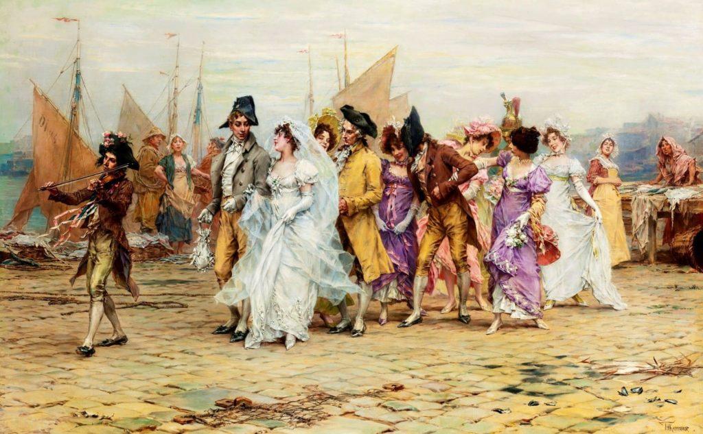 Французские свадьбы – традиции исовременность